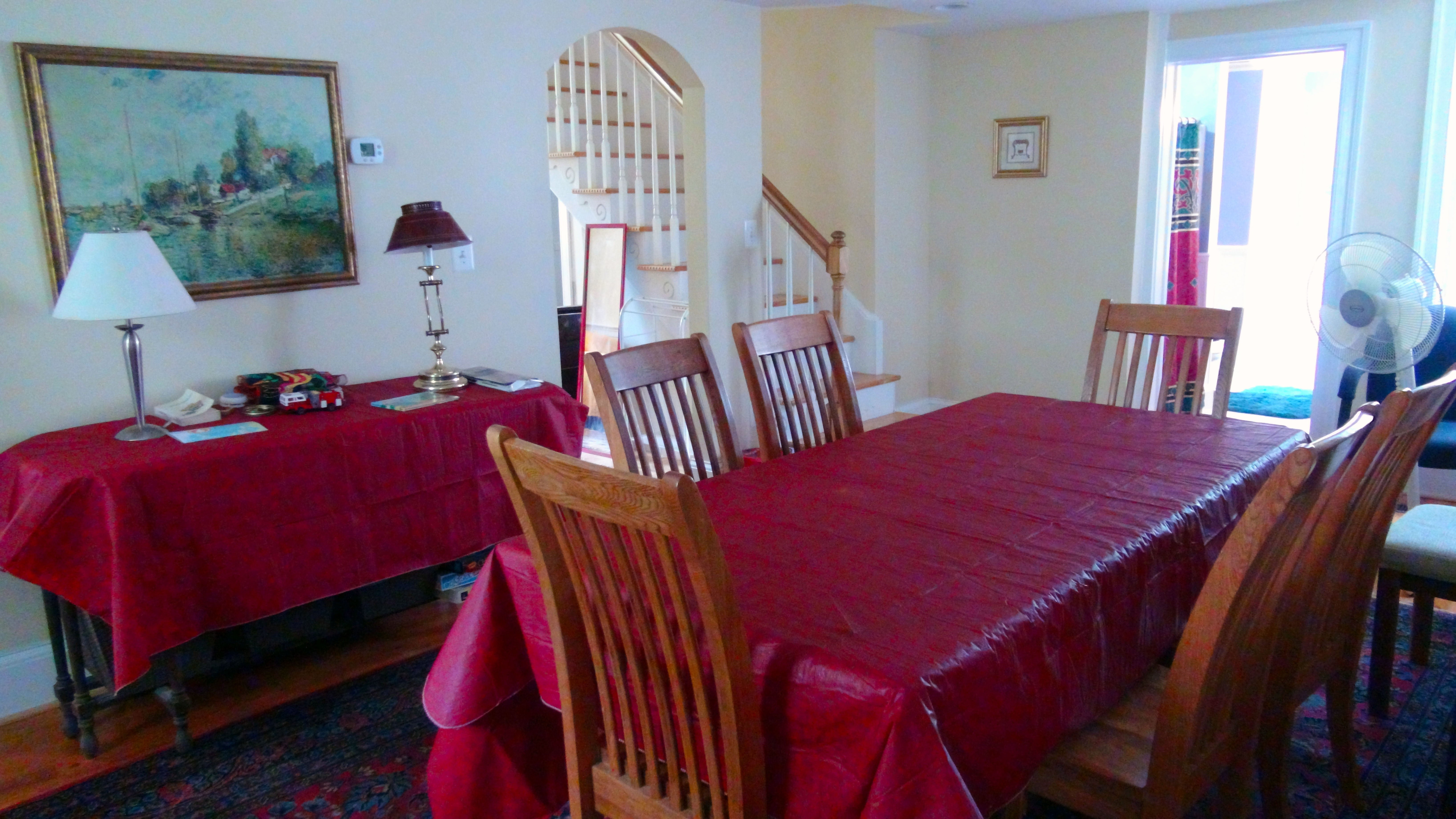 Simpers Retreat House Dining Meeting Room