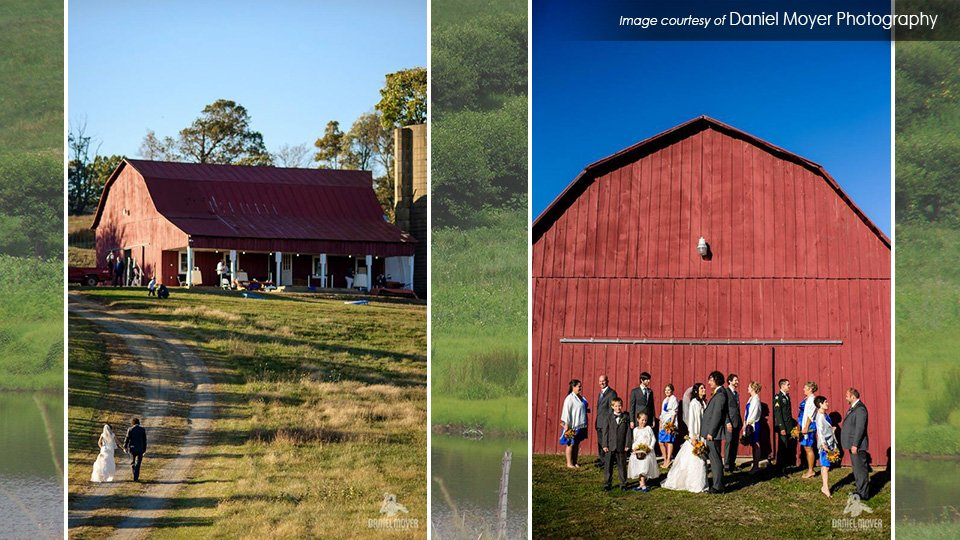 barn wedding Valley View Farm Virginia