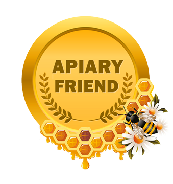 Apiary Friend Medallion, Valley View Farms